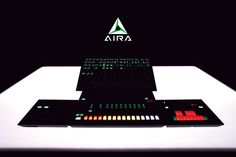 AIRA - maybe you'll just want to use it in the dark, or on a table designed by Stanley Kubrick.