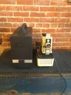 Dukane Micromatic II Film Strip Projector w/ Cassette Player & Case Film Strip, Projectors, 35mm Film, Filmstrip