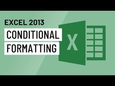 Use conditional formatting in Excel to make data easier to read. Use the Excel conditional formatting function to better visualize data too. Microsoft Excel, Excel Dashboard Templates, Excel Hacks, Computer Help, Software Testing, Cheat Sheets, Programming, Computers, Ms