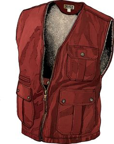 Iron Range Fire Hose Berber-Lined Work Vest from Duluth want the hunter green, 2x tall