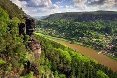 Landscape in the Czech republic  Elbe Canyon by Martin Rak on 500px