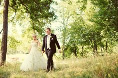 A Walk in the Woods | DePrisco Photo, Deer Creek Country Club, Overland Park, Kansas, Bride and Groom, Wedding Photography