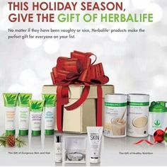 Surprise your loved ones with nutrition and beauty products from Herbalife!  https://www.GoHerbalife.com/herbavidapr/en-US