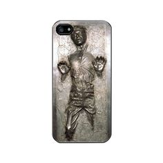 iPhone 5 Case - Han Solo in Carbonite, Best Seller iPhone Case, Black Case, Please note if you order a white case. $17.50, via Etsy.