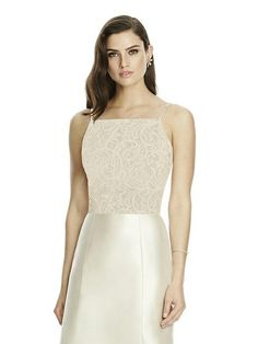 Dessy Bridesmaid style T2982