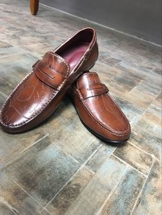 (186.00$)  Watch now - http://ai78l.worlditems.win/all/product.php?id=32776663908 - TERSE_Handmade leather loafers shoes mens Italian calfskin genuine leather dress shoes casual shoes goodyear welted flats shoes