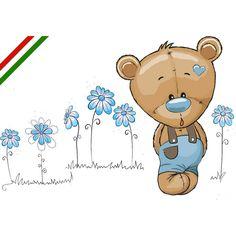 Bear Cartoon, Cute Cartoon, Tatty Teddy, Teddy Bear, Blue Nose Friends, Hobbies That Make Money, Baby Art, Digi Stamps, Kids And Parenting