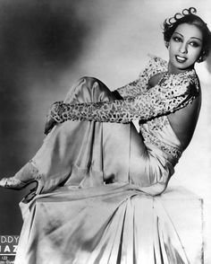 The provocative and alluring Josephine Baker is an iconic Glamazon. #CelebrateSparkle