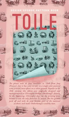 Design*Sponge / Toile Pattern