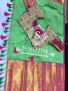 Kanchipuram pattu sarees with Maggam work blouses by Suneetha Designer boutique! Boutique Design, Work Blouse, Silk Sarees, Blouse Designs, Picnic Blanket, Blouses, Scrub Tops, Blouse, Jersey Designs