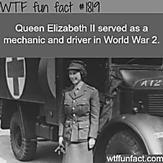 Queen Elizabeth ll in world war 2 - WTF fun facts