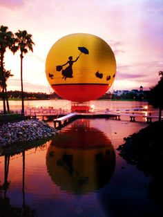 Downtown Disney - Orlando, FL too windy to go up in the balloon though : (