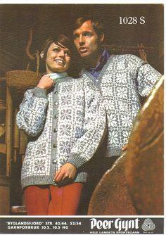 Byglandsfjord 1028 S. Sandnes uldvarefabrik A/S. Knitting Stiches, Knitting Patterns, Norwegian Knitting, Cardigans, Sweaters, Knits, Drawings, Threading, Kleding