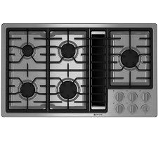 Jenn Air Gas Downdraft Cooktop, Can Be Used Without Ductwork I Want To Lose  The Flat Cook Top And Put This On The Island