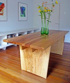 Welcome to Devon Furniture Makers Furniture Direct, Funky Furniture, Bespoke Furniture, Furniture Design, David Ames, Writing Table, Woodworking Plans, Natural Wood, Dining Bench