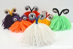 These Yarn Monsters were an utter delight to make and I have laughed all the way through writing this blog post at the photographs I have been editing