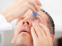 Identifying common eye problems.
