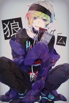 Anime Guys _ Death or life _ _ Hell or Heaven _ _ Prisoner or . Anime Oc, Chibi Anime, Fanarts Anime, Kawaii Anime, Anime Characters, Manga Anime, Cute Anime Guys, Hot Anime Boy, The Wolf Game