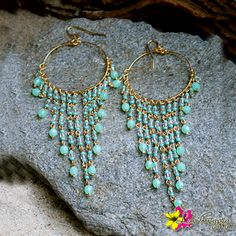 "Glamorize your ears, wear our pretty ""EVA"" earrings for only $ 21. #Earrings #DangleEarrings #Gypsy #Luvgypsy #Boho #Fabulous #Coachella #Tibetan #Tribal #BohoJewelry #BeadWork #PassionEarrings #Beachwear #Silver #Vintage #Beads #Fierce #Jewelry #Coral #Turquoise #Wthite#Native #FreeSpirit #Wild #WildHeart #GypsySoul #IndianJewelry #IndianTreasures #Gold #Summer"