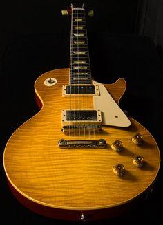 Gibson Custom Shop Historic Wildwood Spec 1959 Les Paul Murphy Aged - Lemon Burst