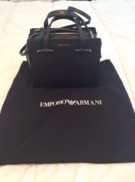 Available @ TrendTrunk.com Armani Bags. By Armani. Only $410.00!