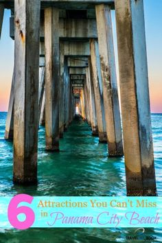 6 Panama City Beach Attractions You Can't Miss Traveling to PCB, Florida? Don't miss these 6 Panama City Beach attractions on your next trip to the Emerald Coast! Panama City Beach Attractions, Panama City Beach Florida, Destin Beach, Panama City Panama, Florida Beaches, Beach Trip, Destin Florida, Florida 2017, Visit Florida