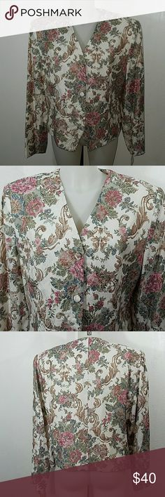 "Nwot Floral Print Blazer Jacket Nwot Floral Print Blazer Jacket by The Very Thing. In excellent condition. Size 18. Bust 42"" Length 23"" The Very Thing Jackets & Coats Blazers"