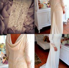 Vestido de novia encaje. Wedding lace dress