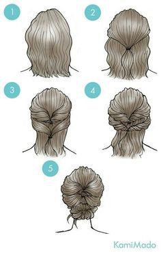 Elegante kapsels voor korte haaropvang #elegante #haaropvang #kapsels #korte