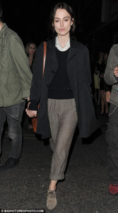 love the rolled up pant legs