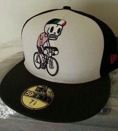 TOKIDOKI TKDK GIRO D  ITALIA New NWT Mens New Era Fitted HAT CAP LID 59 69d90808713e