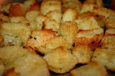 Absolute Best Homemade Croutons (1) From: Deep South Dish  please visit.
