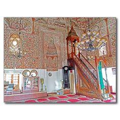 Albania - Et'hem Bey Mosque Art Carte Postale