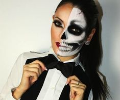 Halloween makeup discovered by R_3_ on We Heart It Monster High Halloween, Haloween Makeup, Halloween Costumes Scarecrow, Scarecrow Makeup, Scary Makeup, Halloween Makeup Looks, Up Halloween, Scarecrow Face, Halloween Scarecrow