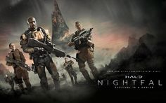 Pictures for Desktop: halo nightfall picture - halo nightfall category