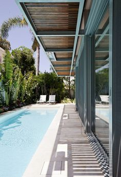 Swimming Pool Ideas Beautiful - Increasing Your Swimming Pool Area. Be inspired by our selection of swimming pool designs and ideas. Learn more about the different types of pools available and create the perfect pool today. Small Swimming Pools, Small Backyard Pools, Backyard Pool Landscaping, Backyard Pool Designs, Small Pools, Backyard Pergola, Swimming Pool Designs, Patio, Lap Pools