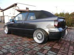 Vw Golf 3, Golf Mk3, Volkswagen, Vw Golf Cabrio, Vw Cabriolet, Convertible, Bbs Wheels, Diy Car, Mk1
