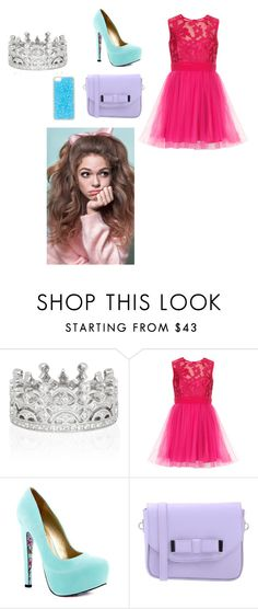 """Nina Gold -New Years-"" by oneloveorieo ❤ liked on Polyvore featuring TaylorSays, Pieces and Forever New"
