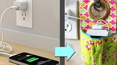 DIY charging station for phones