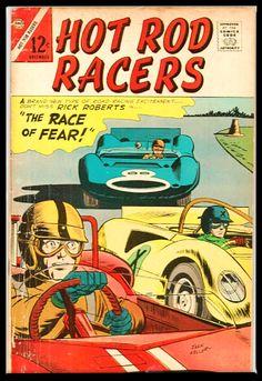 Charlton Comics, Speed Racer, Hot Rods, Racing, Running, Auto Racing
