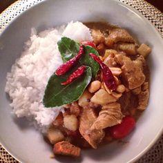 Authentic Massuman Chicken Curry (Thai)