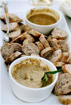 Stout Beer Mustard Recipe with Sausage