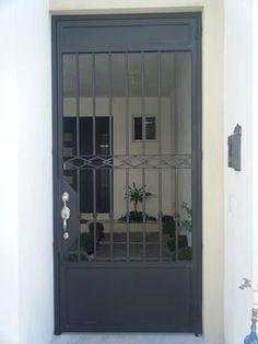 Galerías de Fotos -  HERRERIA MOCTEZUMA Home Garden Design, Wrought Iron Stairs, Security Door Design, Entrance Doors, External Doors, Grill Door Design, Gate Design, Garage Door Design, Metal Door
