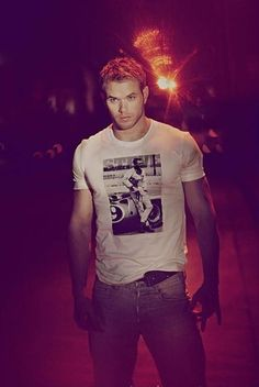 Kellan Lutz-the fact that he studied chemical engineering makes him that much hotter