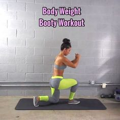 "13.4k Likes, 335 Comments - Carmen Morgan (@mytrainercarmen) on Instagram: ""Body-Weight Booty Workout - - 3-5 Sets - - Outfit: @cutebootylounge - - #homeexercises…"""