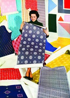 Fabulous Colour Fashions of the Fifties - The Chromologist
