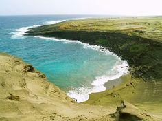 Papakolea Beach – Kaʻū, Hawaii
