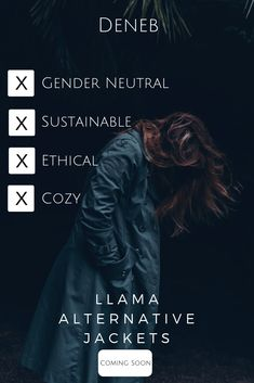 Deneb is a gender neutral, sustainable, ethical and cozy brand that utilizes llama fleece for our outerwear pieces. Winter Hippie, Swag Outfits For Girls, Cool Outfits, Estilo Converse, Harajuku, Def Not, Mens Fashion, Fashion Outfits, Ladies Fashion
