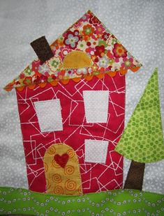 """Tried my hand at a little wonkiness with Jane's """"Wonky House Block Swap."""" won·ky (w ng k ) definition: 1. shaky or unsteady (rickety, ..."""