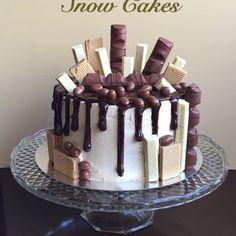 Muerte por chocolate Desserts, Food, Death By Chocolate, Baking, Tailgate Desserts, Meal, Deserts, Essen, Dessert